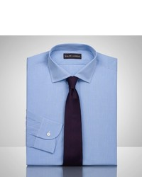 Ralph Lauren Black Label Micro Checked Bond Dress Shirt