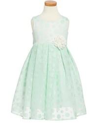 Dorissa Dotty Sleeveless Dress