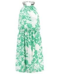 Summer dress emerald green medium 3841723