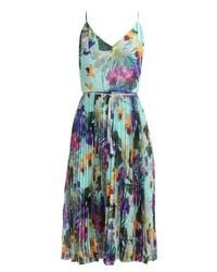 Tropical summer dress mint medium 4270715