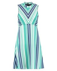 Anna Field Summer Dress Greenblue
