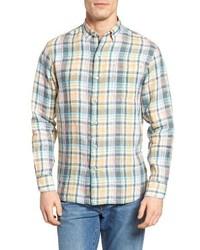 Mint Linen Long Sleeve Shirt