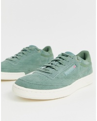 Reebok Club C Mcc Trainers In Green Cm9297