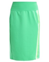 Benetton Gonna Pencil Skirt Green