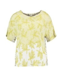 Nile print t shirt tourmal medium 4239337