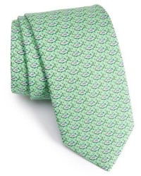 Vineyard Vines Yellowtail Print Silk Tie
