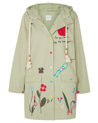 Mira Mikati Embroidered Cotton Twill Jacket