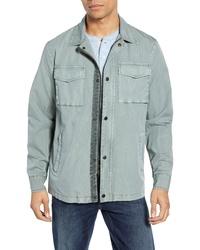 Mint Shirt Jacket