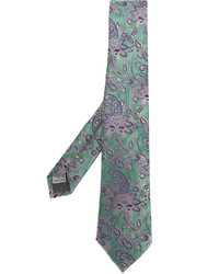 Canali Patterned Tie