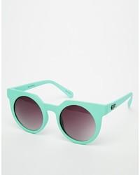 Asos Quay Frankie Round Sunglasses
