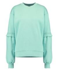Topshop Sweatshirt Green