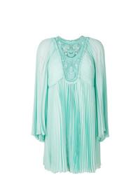 Chloé Micro Pleated Silk Dress