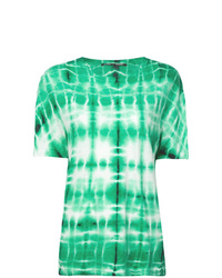 Mint Tie-Dye Crew-neck T-shirt