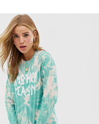 Another Reason Long Sleeved Logo T Shirt In Tie Dye