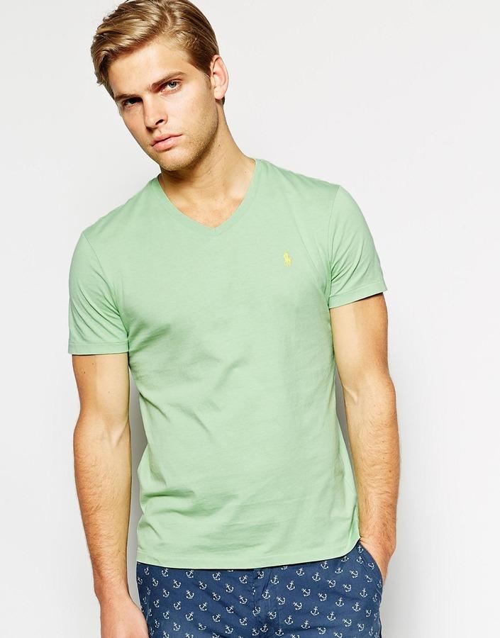 ... Polo Ralph Lauren V Neck T Shirt ... b27ce60e99a9