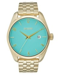 Bullet watch light gold colouredturquoise medium 4123939