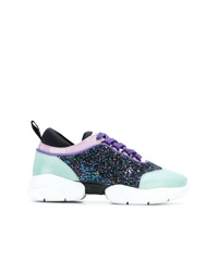 Emilio Pucci Lace Up City Sneakers