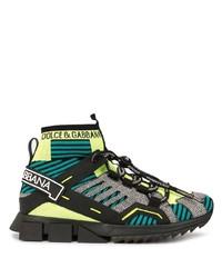 Dolce & Gabbana Sorrento High Top Sneakers