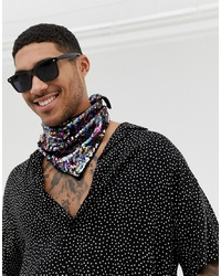 ASOS DESIGN Sequin Bandana