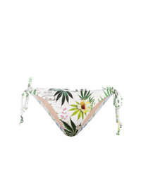 Fleur Du Mal Grommet Tie Side Bikini Bottoms