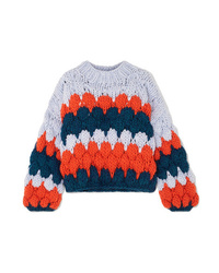 The Knitter The Ugly Intarsia Wool Sweater