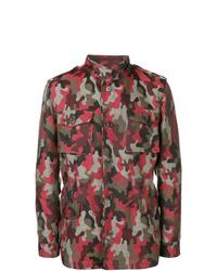 Gabriele Pasini Camouflage Military Jacket