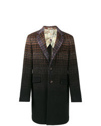 Multi colored Check Overcoat