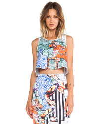 Multi colored Cropped Top