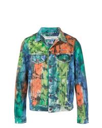 Multi colored Denim Jacket