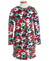 Multi colored Floral Dress