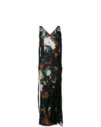 Antonio Marras Floral Printed Long Dress