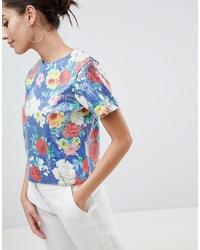 ASOS DESIGN Printed Sequin T Shirt