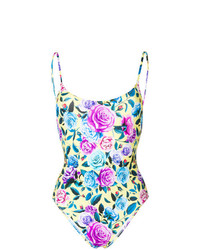 MC2 Saint Barth Floral Print Swimsuit