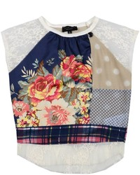 Multi colored Floral T-shirt