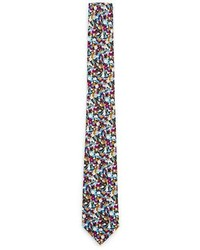 Multi colored Floral Tie