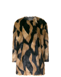 Givenchy Spotted Furry Coat