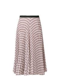Multi colored Geometric Midi Skirt