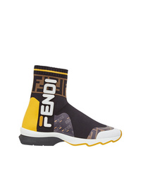 Fendi Mania Sock Style Sneakers