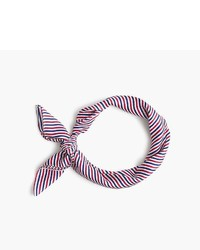 Multi colored Horizontal Striped Bandana