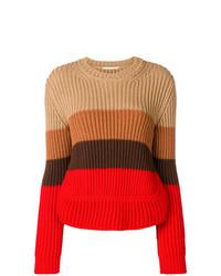 Marco De Vincenzo Striped Sweater