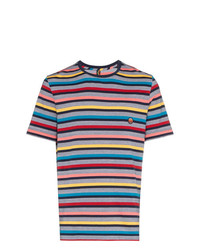 Missoni Multicoloured Striped Cotton T Shirt Unavailable