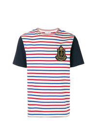 JW Anderson Stripe Logo Patch T Shirt