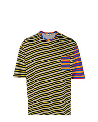 Marni Striped Print T Shirt