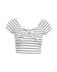 Miss Selfridge Bunny Tie Print T Shirt Multi Bright