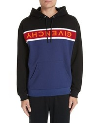 Multi colored Horizontal Striped Hoodie