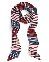 Sole Society Stripe Skinny Scarf