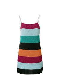 Laneus Striped Knitted Dress