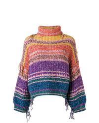 Maison Flaneur Colour Block Sweater