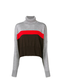 Marios Cropped Striped Sweater
