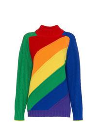 Burberry Rainbow Turtleneck Jumper